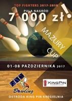 PLAKAT MAZURY CUP 2017
